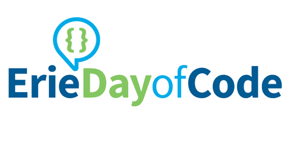 Erie Day of Code logo